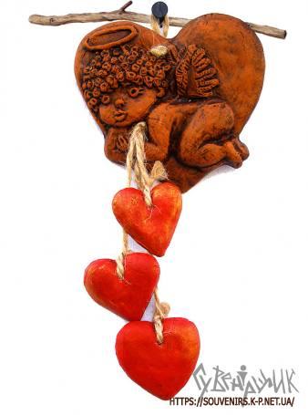 Ангелик з сердцями