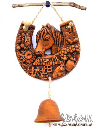 Сувенір підкова з конем