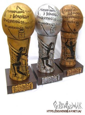 Кубки для чемпіонату з волейболу