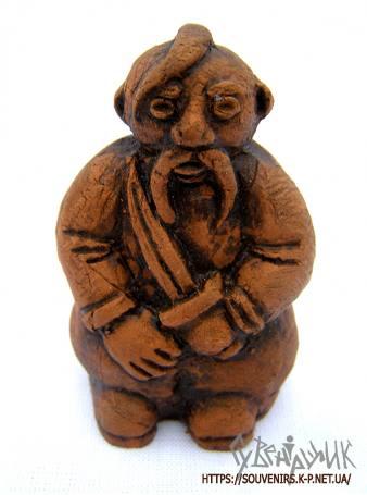 Фігурка козака з кераміки